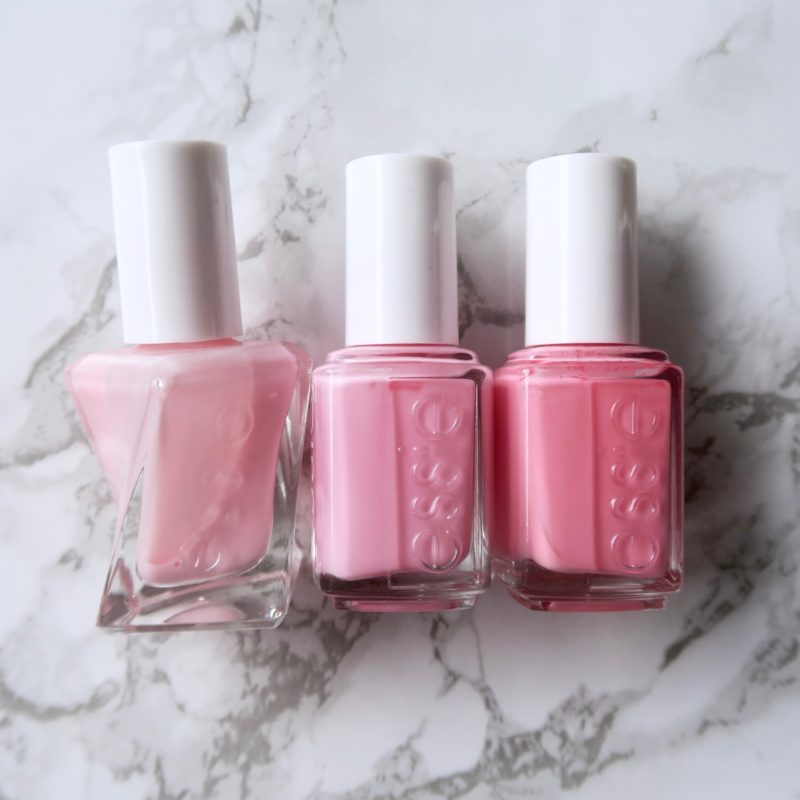 Essie Fall 2017 collection - Saved By The Belle, comparison to similar essie polishes
