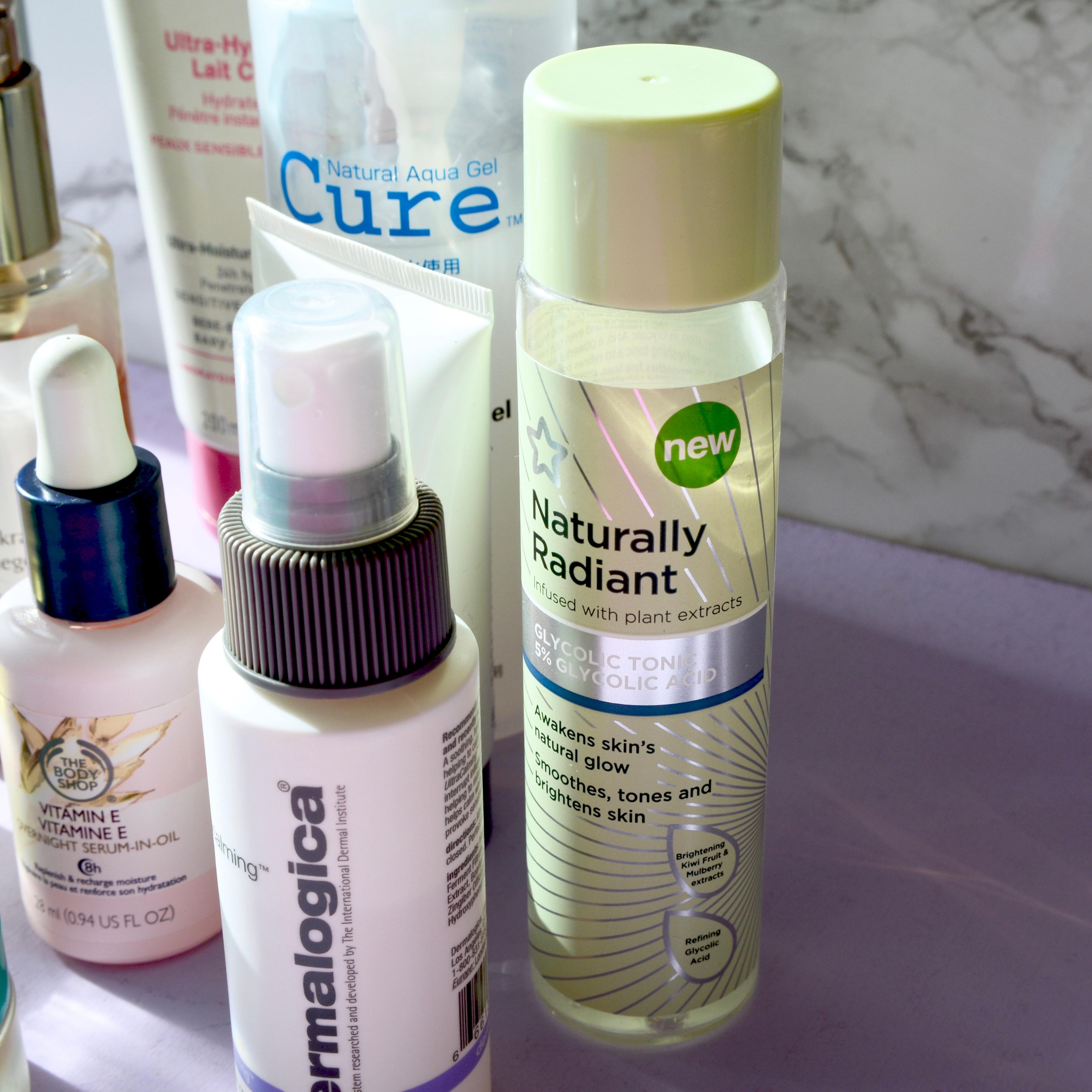 Skincare Shake Up: Superdrug Naturally Radiant glycolic toner (sensitive, rosacea skin)
