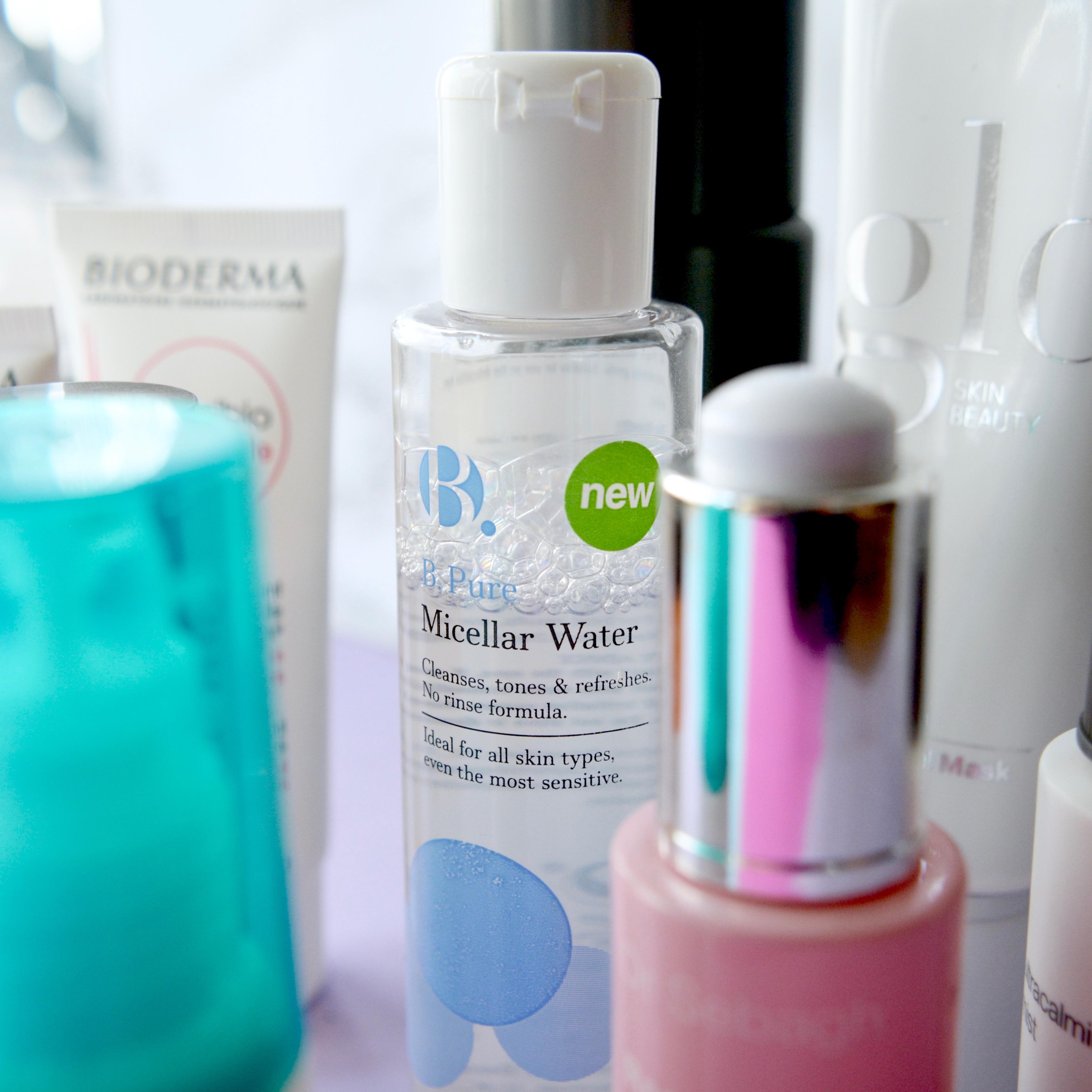 Skincare Shake Up: B. Micellar water (sensitive, rosacea skin)