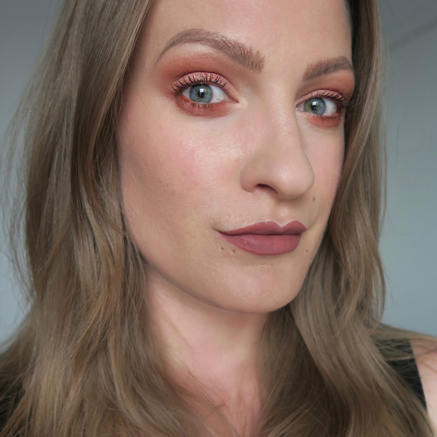 Urban Decay Naked Heat Palette: copper eyes
