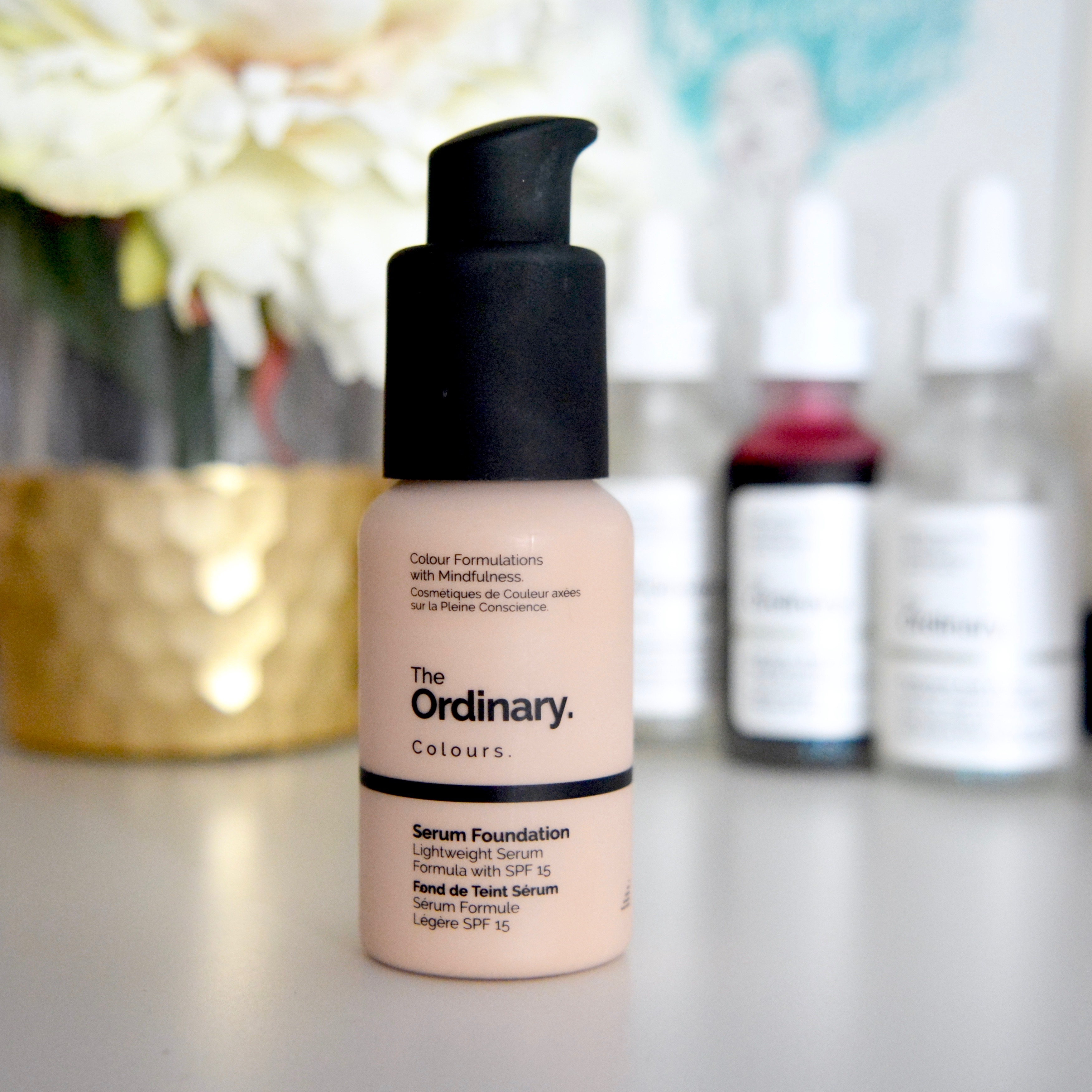 The Ordinary Serum Foundation review: how it covers my rosacea.