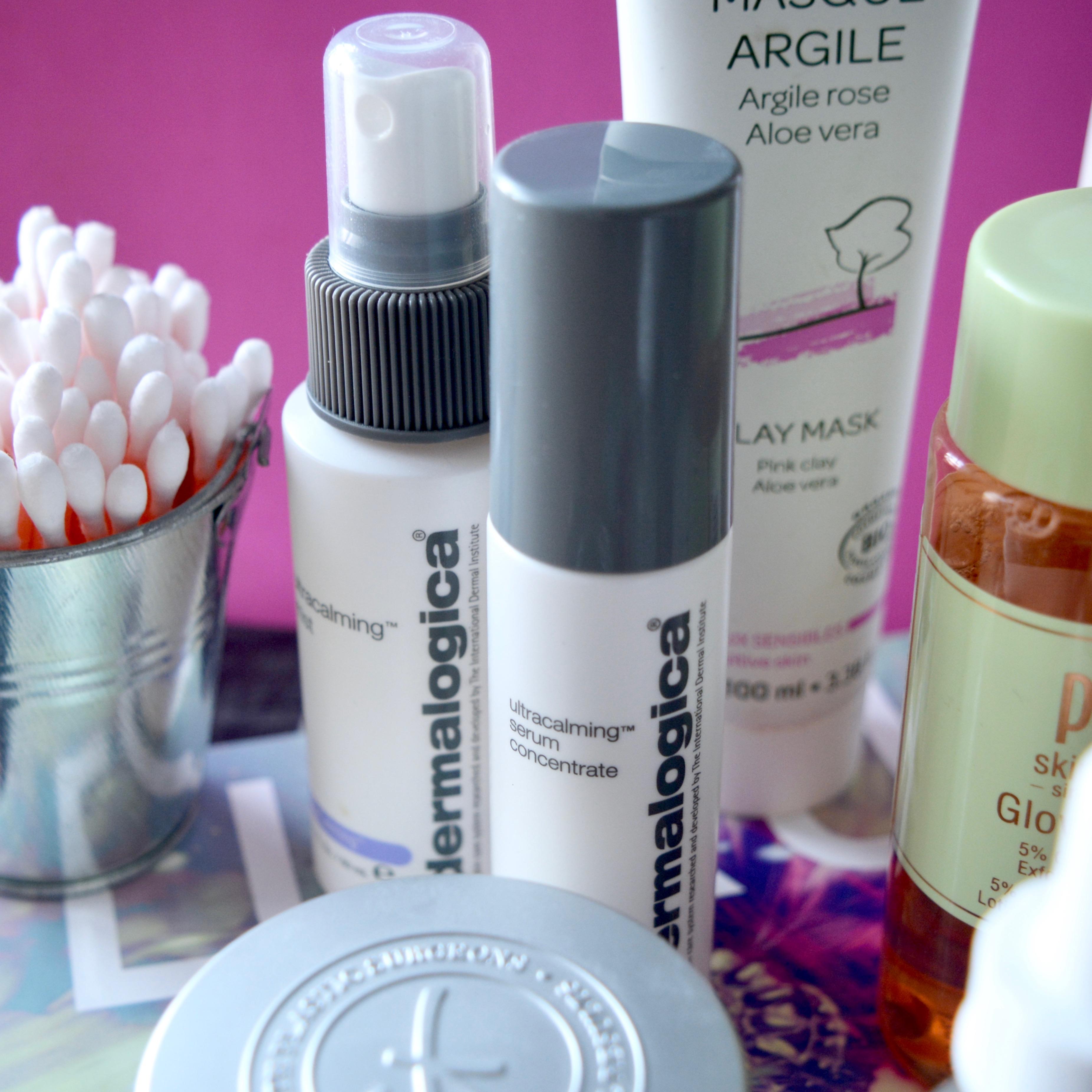 Skincare Shake Up October 2017 - Dermalogica Ultracalming range (full skincare routine for sensitive/rosacea skin)