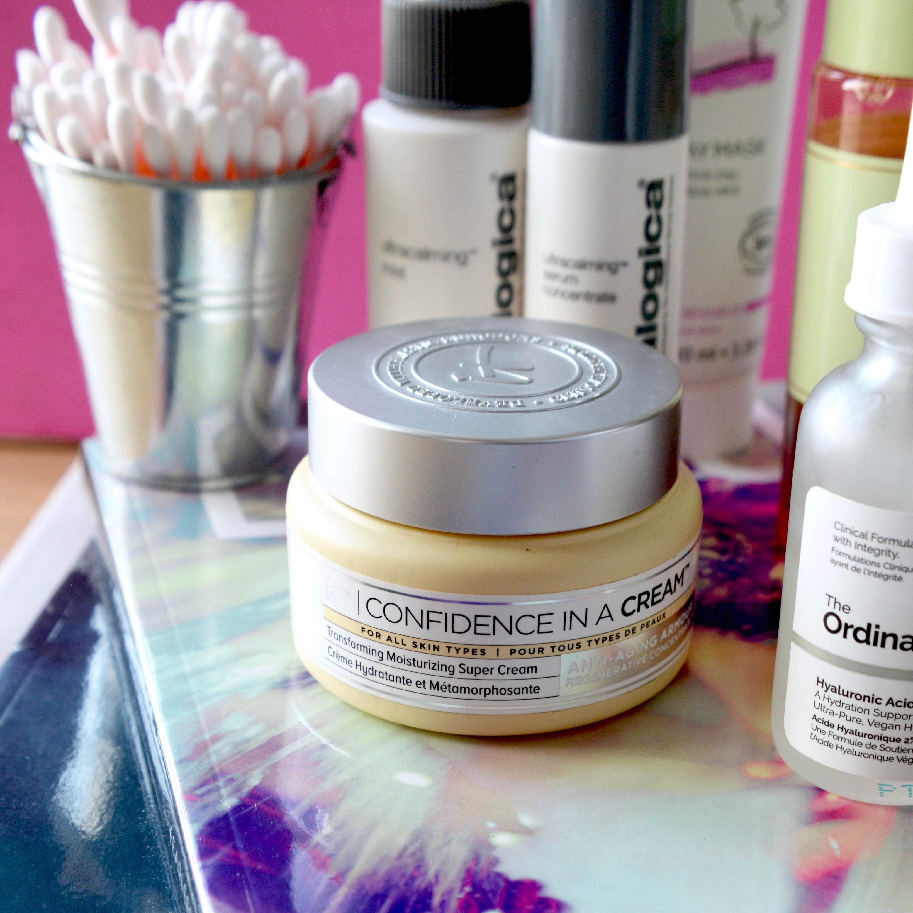 Skincare Shake Up October 2017 - IT Cosmetics Confidence In A Cream (full skincare routine for sensitive/rosacea skin)