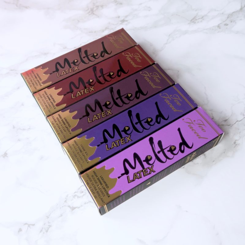 Too Faced Melted Latex lipstick review