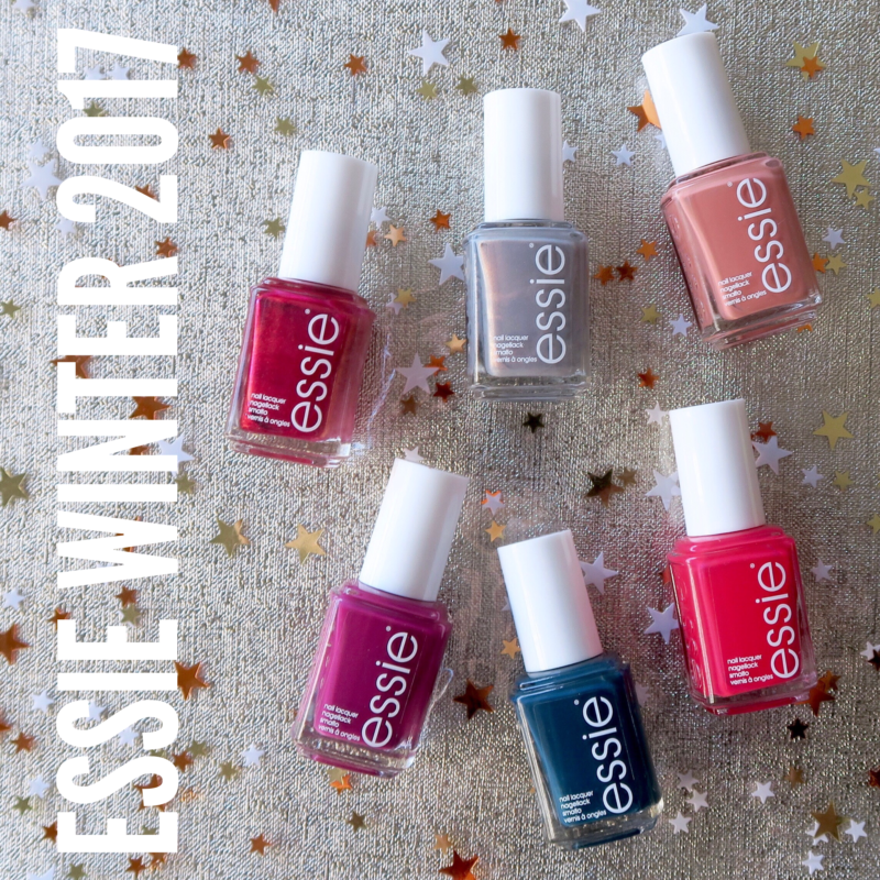 Essie Winter Collection 2017 review and swatches