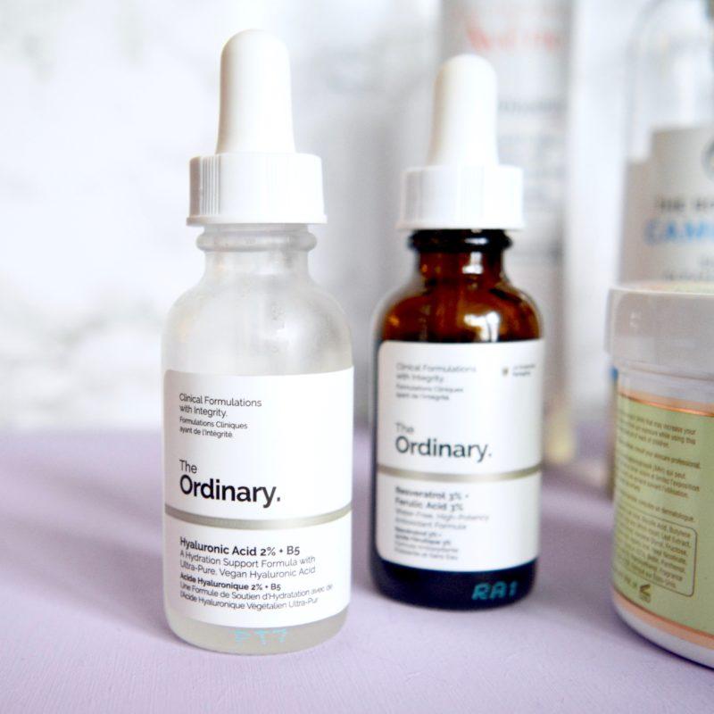 The Ordinary - Skincare routine for sensitive skin, rosacea (Skincare Shake Up)