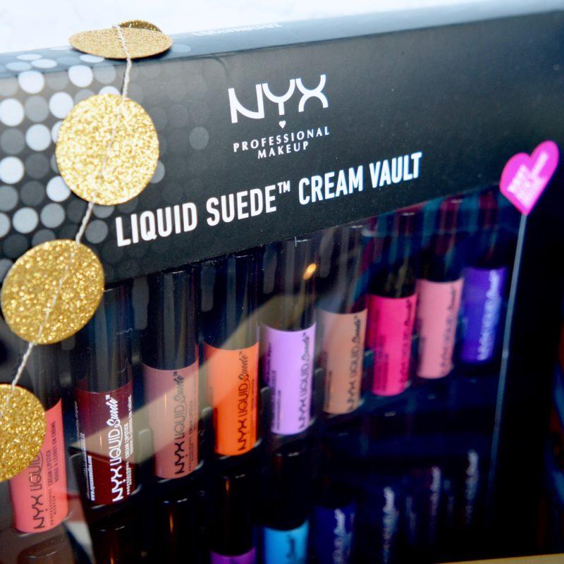 NYX liquid lipstick vault (Beauty Lover's Christmas Gift Guide)