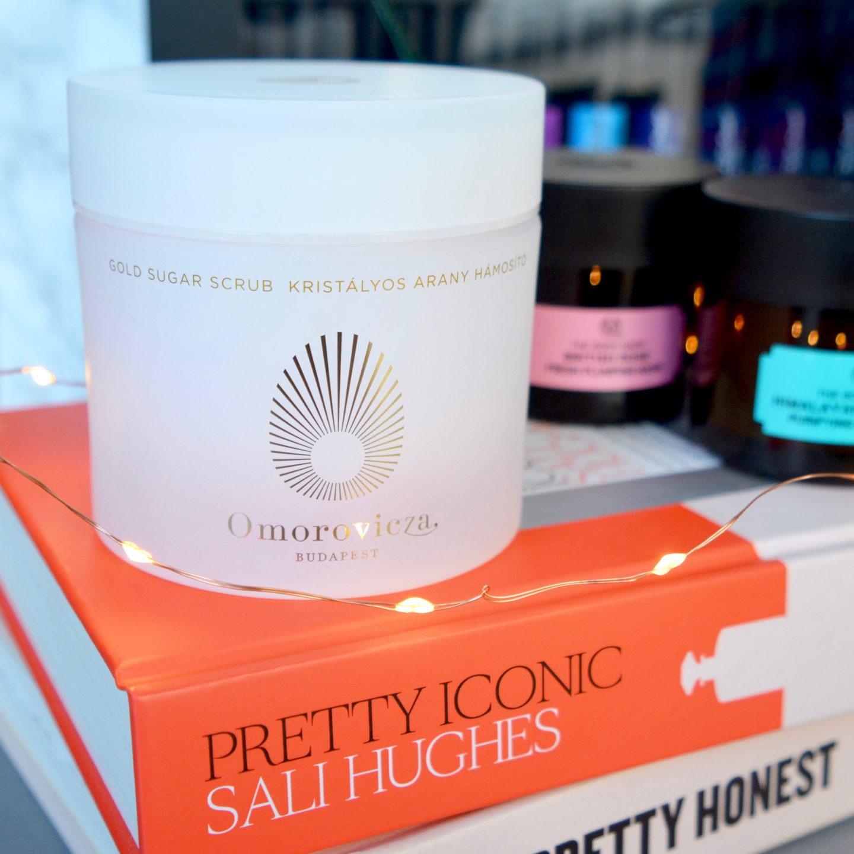 Omorovicza gold body scrub (Beauty Lover's Gift Guide)