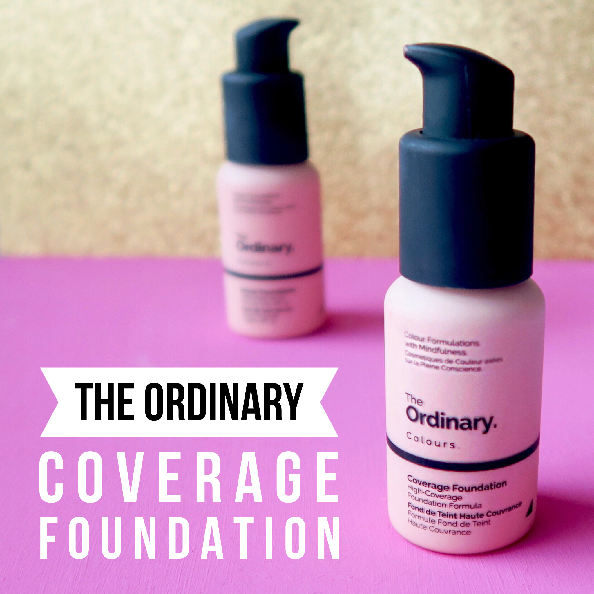 #RosaceaReview The Ordinary Coverage Foundation