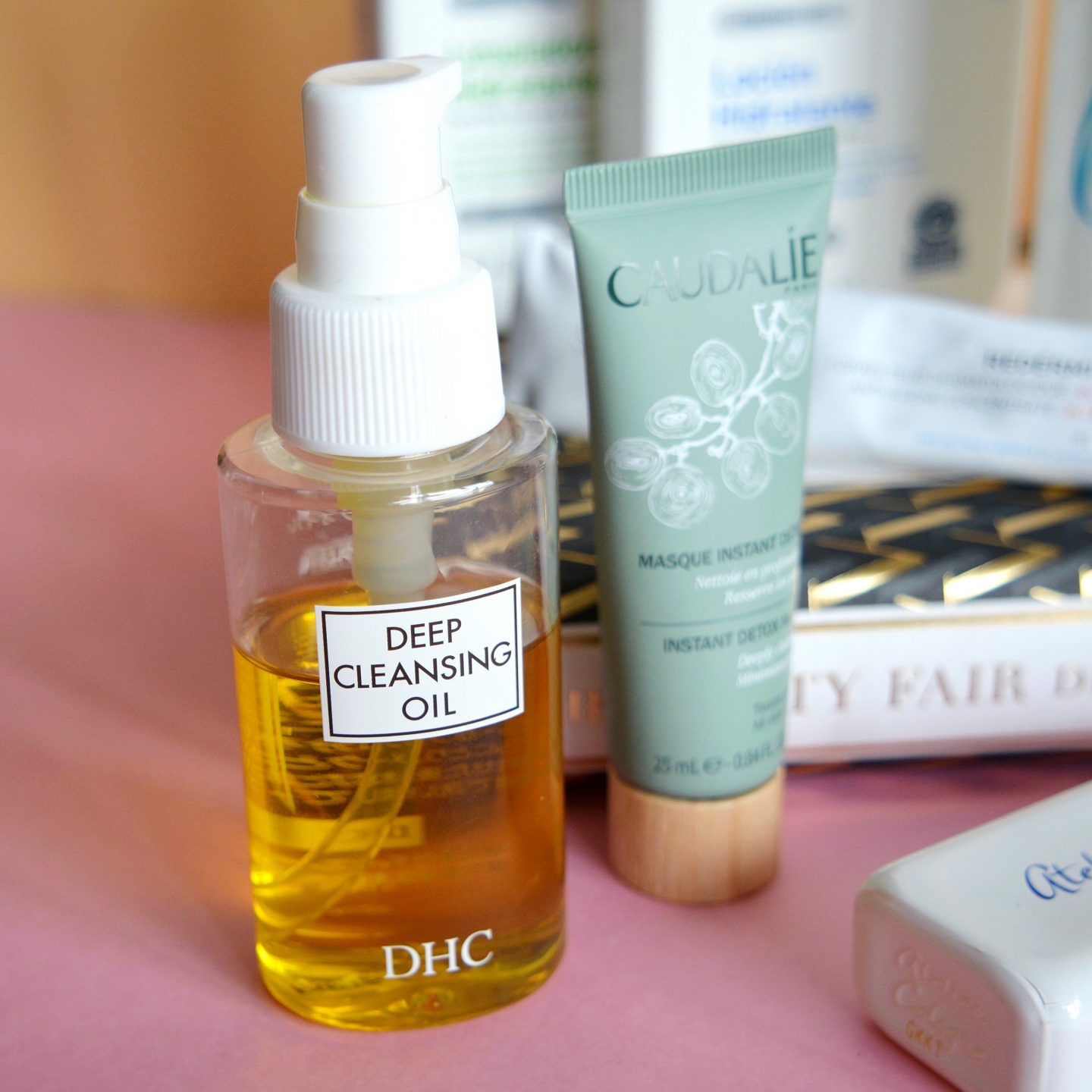 My current skincare routine: DHC Deep Cleansing Oil (rosacea, sensitive skin)