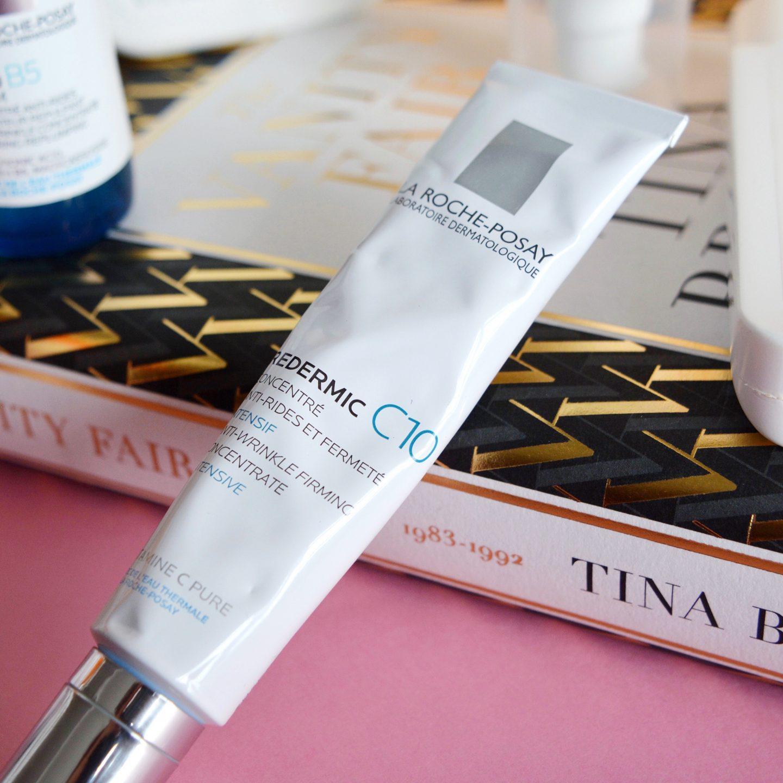 My current skincare routine: La Roche Posay Redermic C10 (rosacea, sensitive skin)