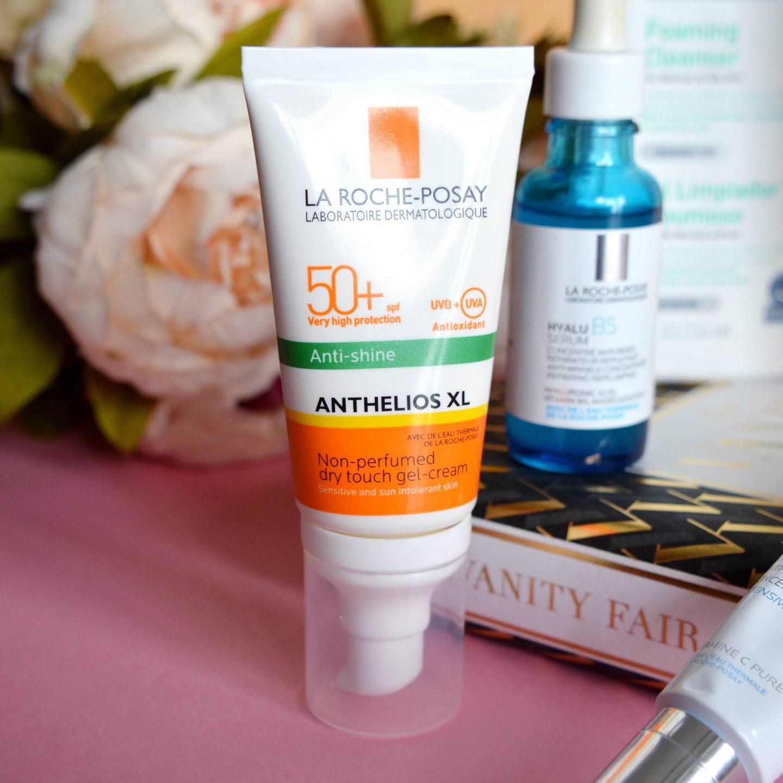 My current skincare routine: La Roche Posay SPF (rosacea, sensitive skin)