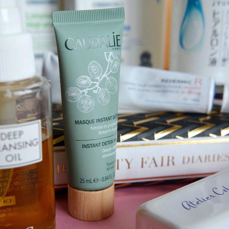 My current skincare routine: Caudalie Instant Detox Mask (rosacea, sensitive skin)