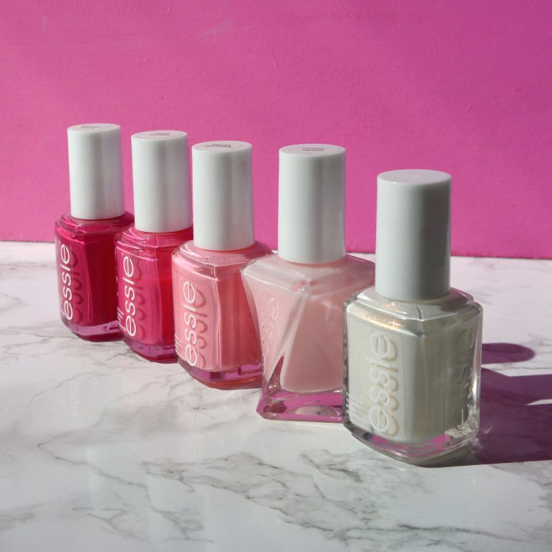 Pink essie polishes - Talonted Lex