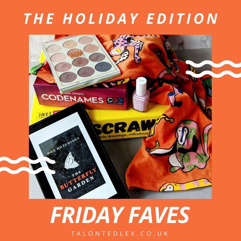 Friday Faves: A great book, two hilarious board games, a bright tee, a nail varnish fave and more...