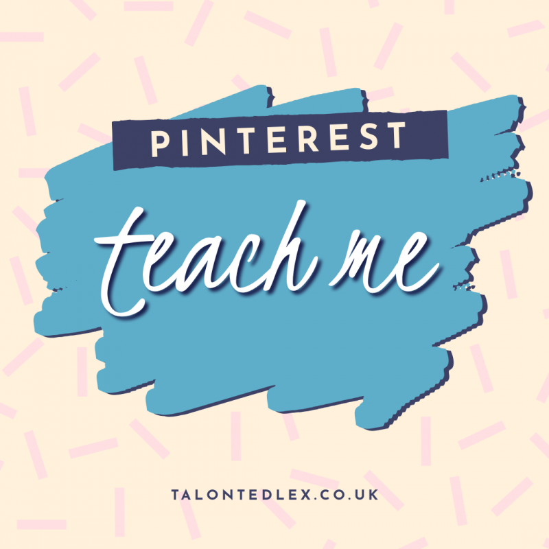 Do you need help with your Pinterest account? I can help! Pinterest tips and advice. #talontedlex