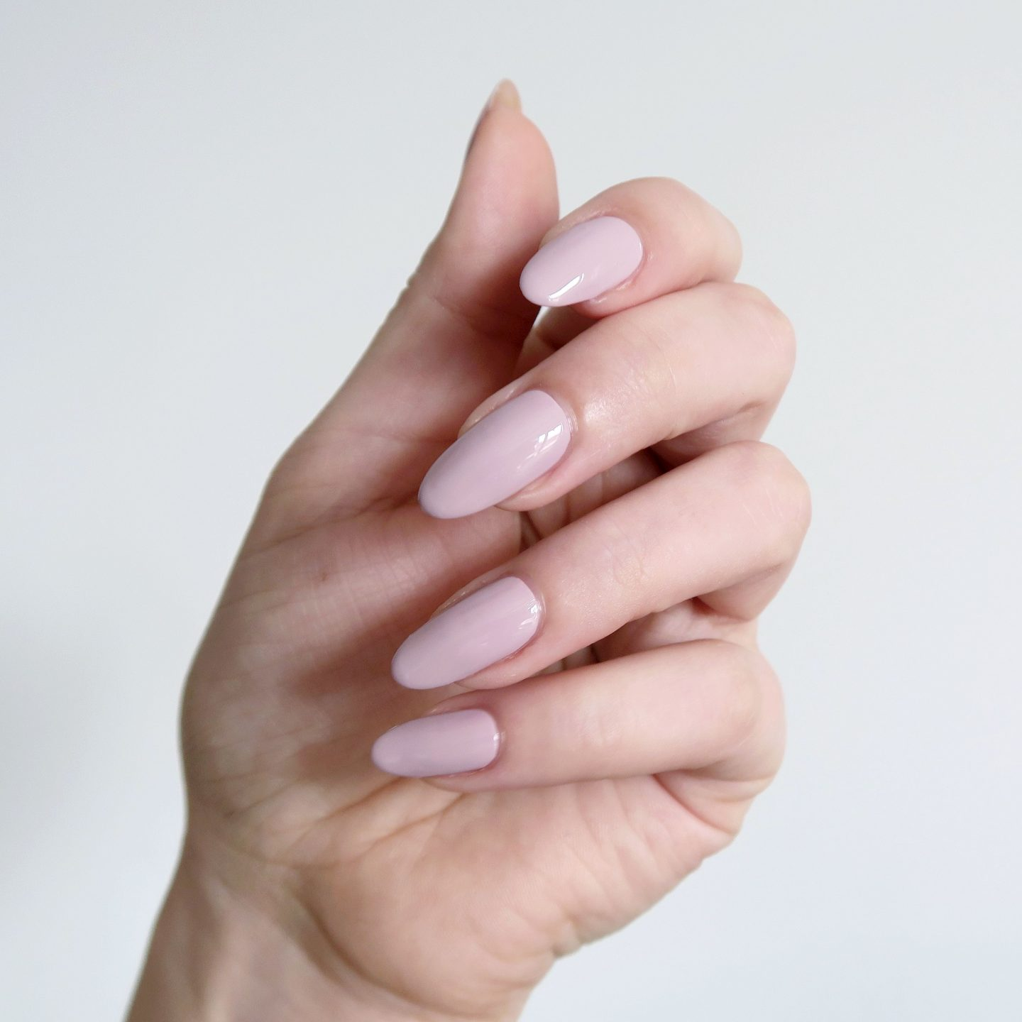 Repin and click to see my review of the new Morgan Taylor Color Of Petals collection. Morgan Taylor 'Gardenia My Heart' - a dusty rose creme nail polish inspiration. Spring manicure inspiration. #talontedlex
