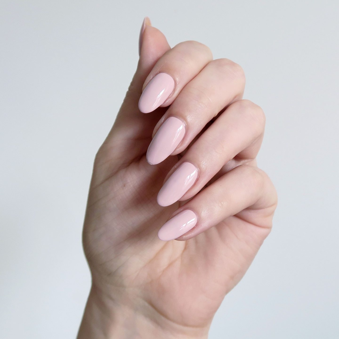 Repin and click to see my review of the new Morgan Taylor Color Of Petals collection. Morgan Taylor 'I Feel Flower-ful' - a light nude creme nail polish inspiration. Spring manicure inspiration. #talontedlex