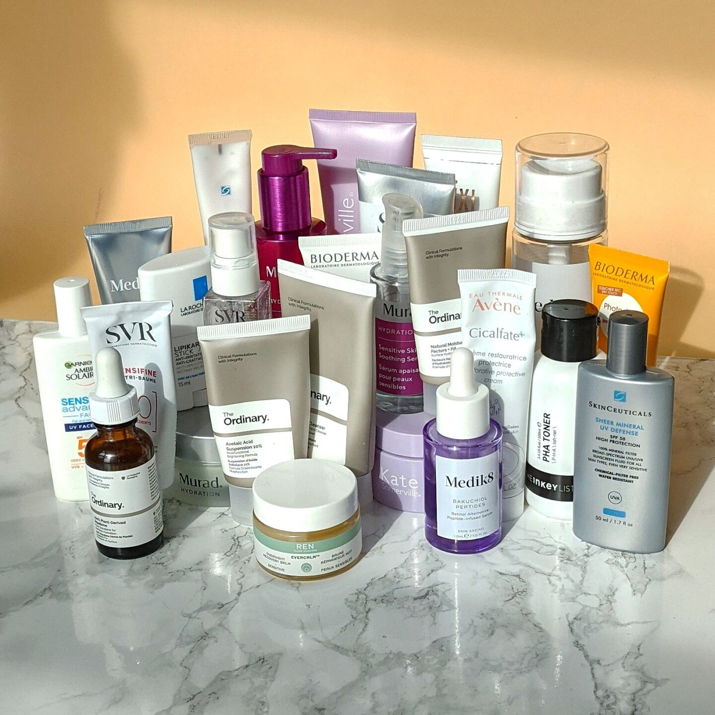 A year in lockdown skincare: the skincare I tried for sensitive skin, rosacea skincare tips. Skincare routine for rosacea skin.