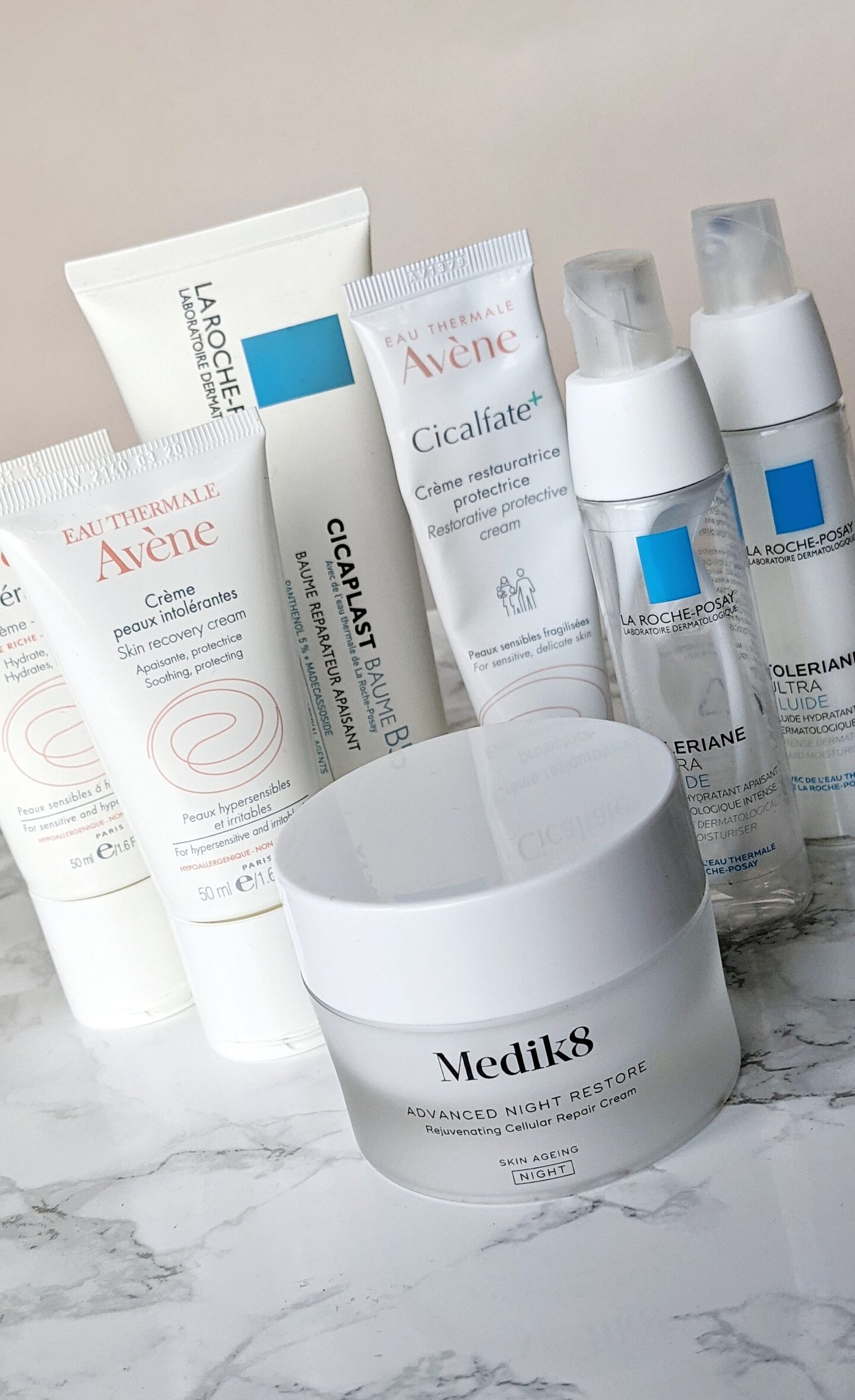 The best moisturisers for rosacea and sensitive skin. Trying to find the best skincare routine for rosacea? My blog can help. Skincare that doesn't irritate rosacea. #talontedlex